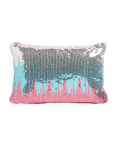 Kids 12x18 Sequined Pillow