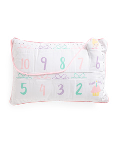 Kids Birthday Countdown Pillow