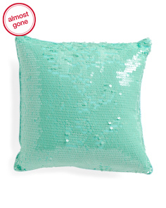 Kids 18x18 All Over Paillettes Pillow