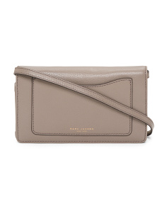 Recruit Leather Wallet Crossbody