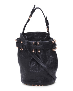 Diego Small Leather Shoulder Bag