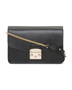 Metropolis Leather Shoulder Bag