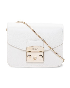 Mini Metropolis Leather Crossbody