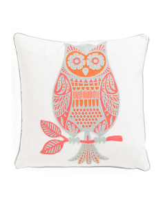 Kids 20x20 Owl Pillow