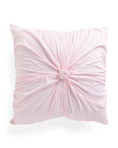 Kids Made In India 26x26 Rose Euro Pillow