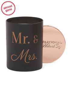 11oz Mr. & Mrs. Candle