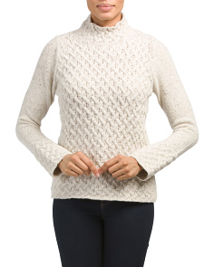 Made In Ireland Wool Blend Sweater