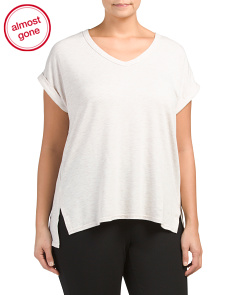 Plus Active French Terry Top