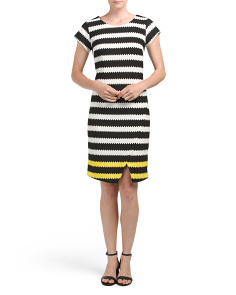Novelty Striped Dress