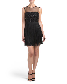 Cocktail Dress With Fringe