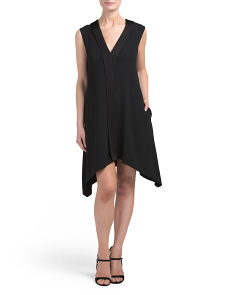 V Neck Cocktail Dress