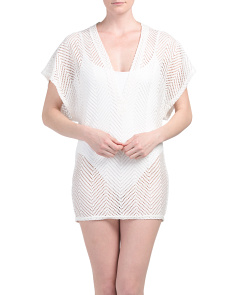 Made In USA Mesh Cover-up Tunic