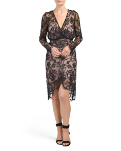 Sofala Long Sleeve Lace Dress