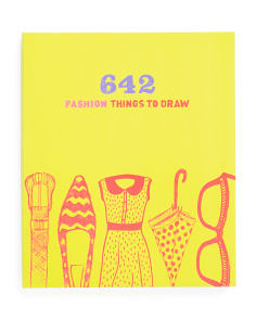 642 Fashion Things To Do Draw Book