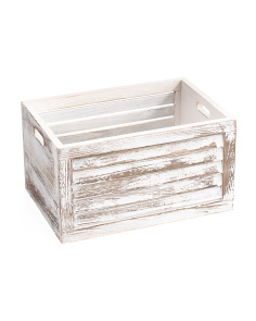 Medium Shutter Storage Bin