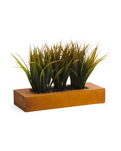 Faux Grass Arrangement