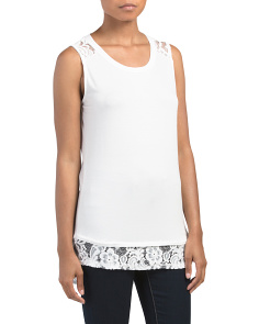 Lace Inset Tank