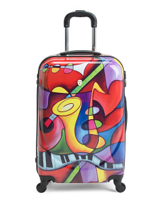 24in Jazz Medley Hardcase Spinner