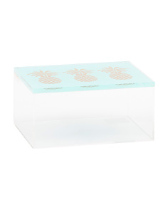 Clear Pineapple Box