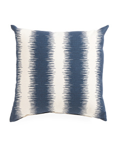 Made In USA 22x22 Indigo Pillow