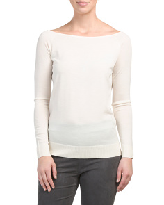 Ebliss Refine Merino Wool Sweater