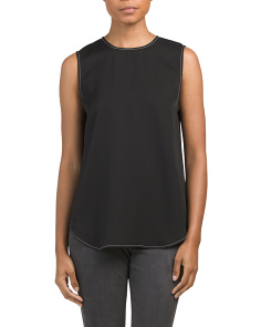 Melana Modern Silk Georgette Top
