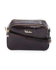 Made In Italy Vachetta Leather Crossbody