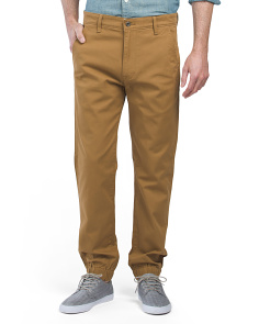 Stretch Chino Joggers