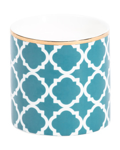 Moroccan Tile Candle