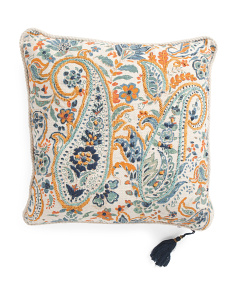 Made In India 20x20 Reversible Pillow