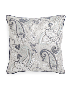 Made In India 20x20 Jen Reversible Pillow