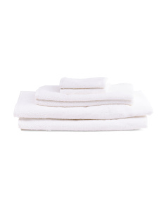 Made In Turkey 6pc Natural Bath Towel Set