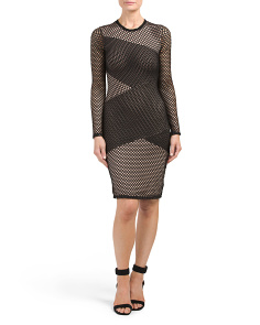 Jorden Long Sleeve Cocktail Dress