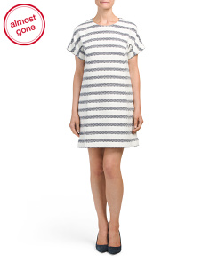 Tweed Short Shift Dress