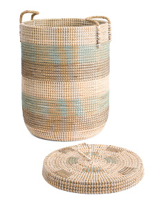 Seagrass Storage Hamper
