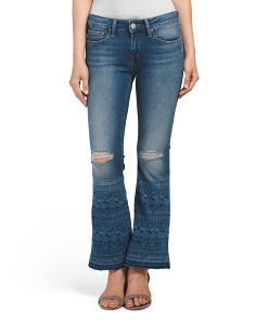 Petite Tribe Vintage Flare Jeans