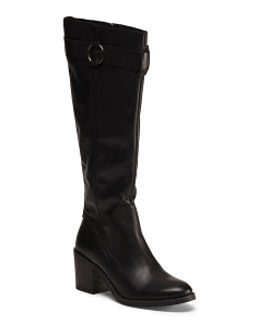 Made In Italy Leather Heeled Boots