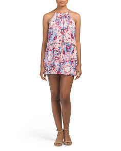 Catamaran Silk Romper