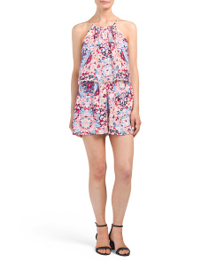 Silk Catamaran Romper