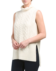 Eliza Wool Turtleneck Sweater