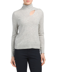 Wool Blend Ruth Turtleneck Sweater
