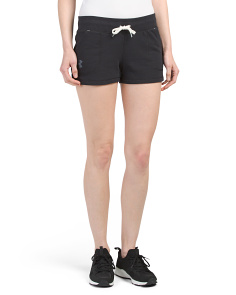 French Terry Shorty Shorts