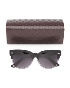 Made In Italy Unisex Sunglasses With Designer Case