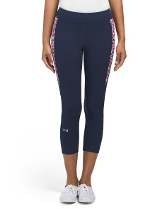 Heatgear Print Inset Crop Pants