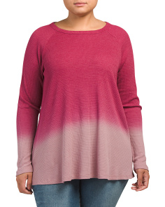 Plus Ombre Thermal Swing Top