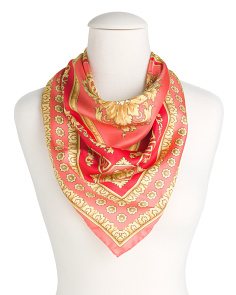 Made In Italy Silk Foulard Scarf