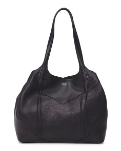 Fargo Leather Tote