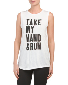 Take My Hand Graphic Tee