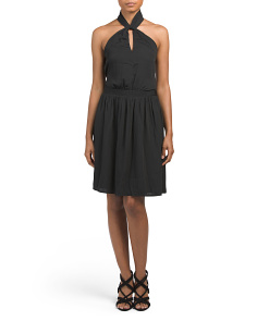 Jay Criss Cross Neck Dress