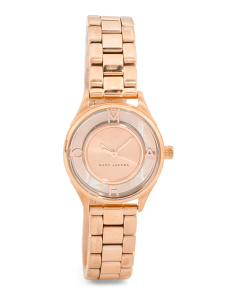 Women's Petite Tether Skeleton Dial Bracelet Watch